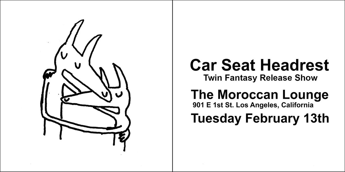 Matador Records On Twitter Car Seat Headrest Moroccan Lounge Los Angeles Tues Feb 13 Tco Bf5RGRf4dJ Carseatheadrest