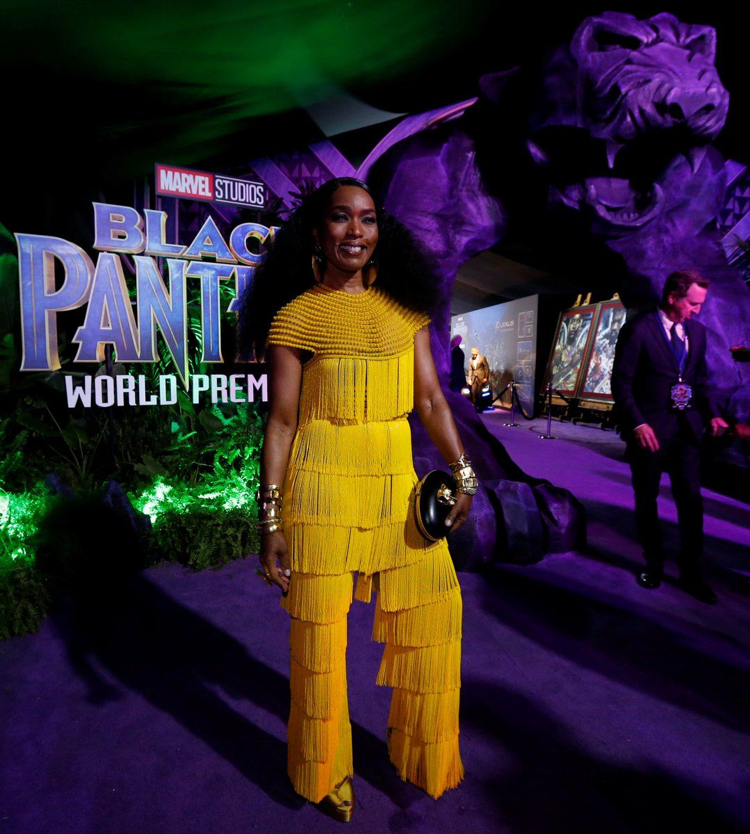 Last Night Was The Black Panther Premiere And It Was: Actors From The Black Panther Movie Showed Up At The La