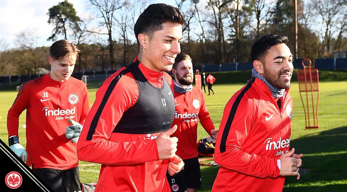 Eintracht Frankfurt On Twitter Der Heutige Trainingstag Ist Vorbei