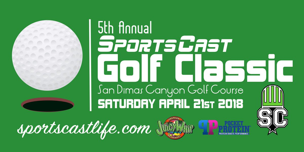 5th Annual SportsCast Golf Classic (April 21st, 2018)