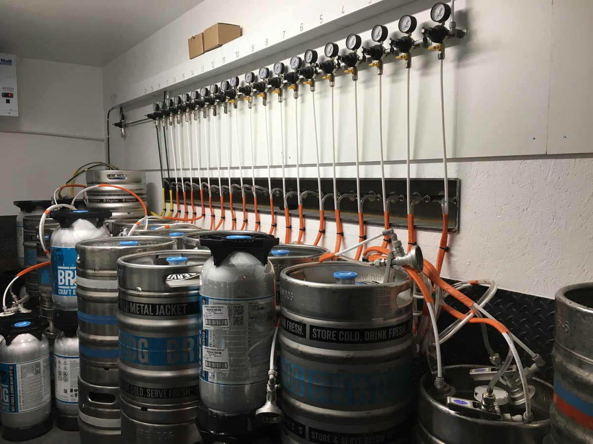Brewdog Lothian Road On Twitter Curious What Our 20 Taps Look Like Metal Jacket Wiring From The Other Side Heres A Peak Into Engine Room Pride Joy Of
