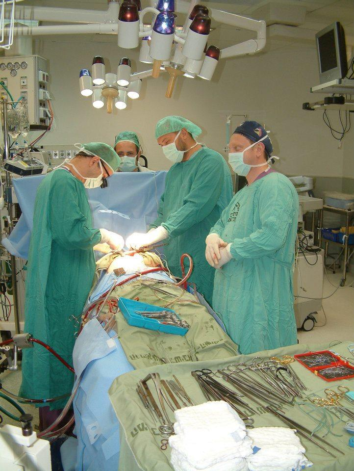 Аортокоронарное шунтирование в израиле