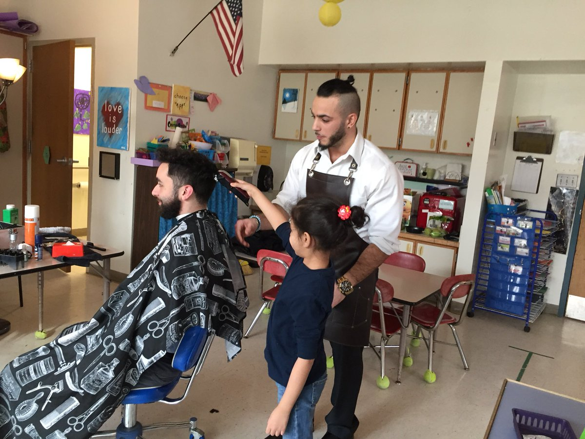 Kindergarten Hawks have been having family shares - we learned how to vote and how to cut hair! Our families are amazing resources for our school.