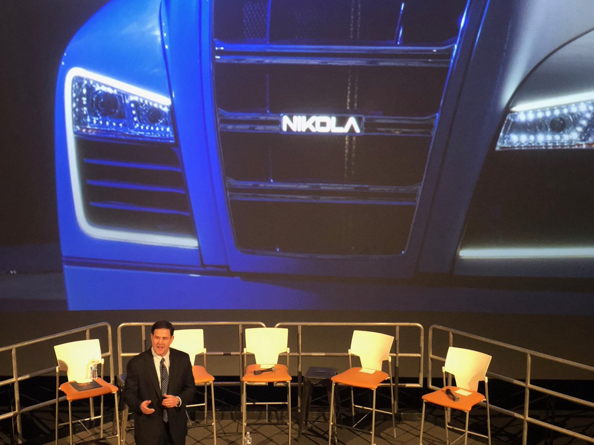 doug ducey on twitter breaking nikola motor company maker of