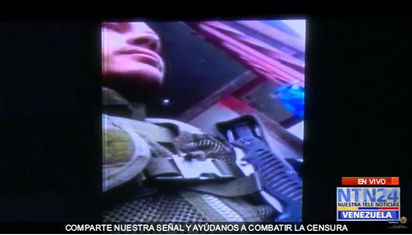 RT NTN24ve: #EnVivo delsasolorzano presenta video completo en el que se ve la negociación entre Óscar Pérez y las autoridades #30Ene http://bit.ly/2Fw0irp