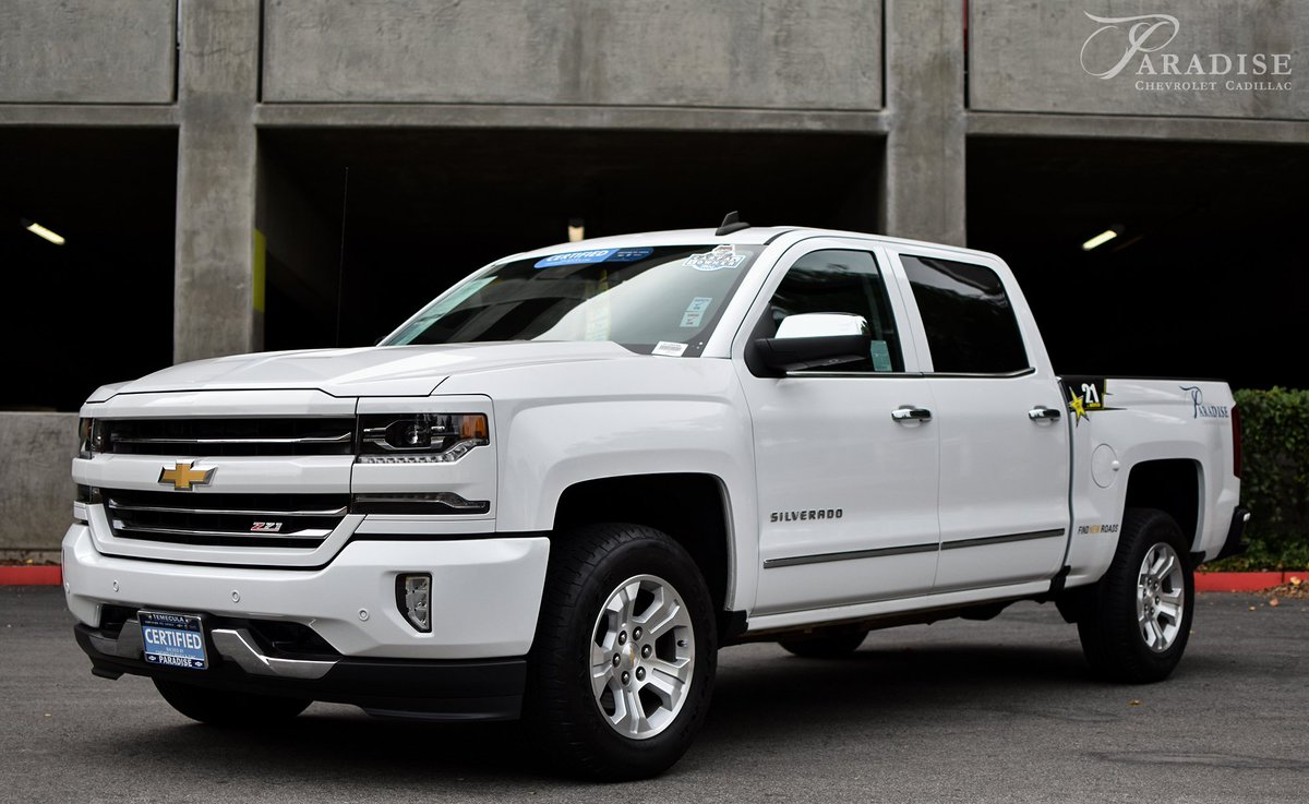 ... At Paradise Chevrolet Cadillac. Autographed Framed Jersey Included In  Purchase. Donu0027t Miss Out On This One Of A Kind Special Edition TRUCK!