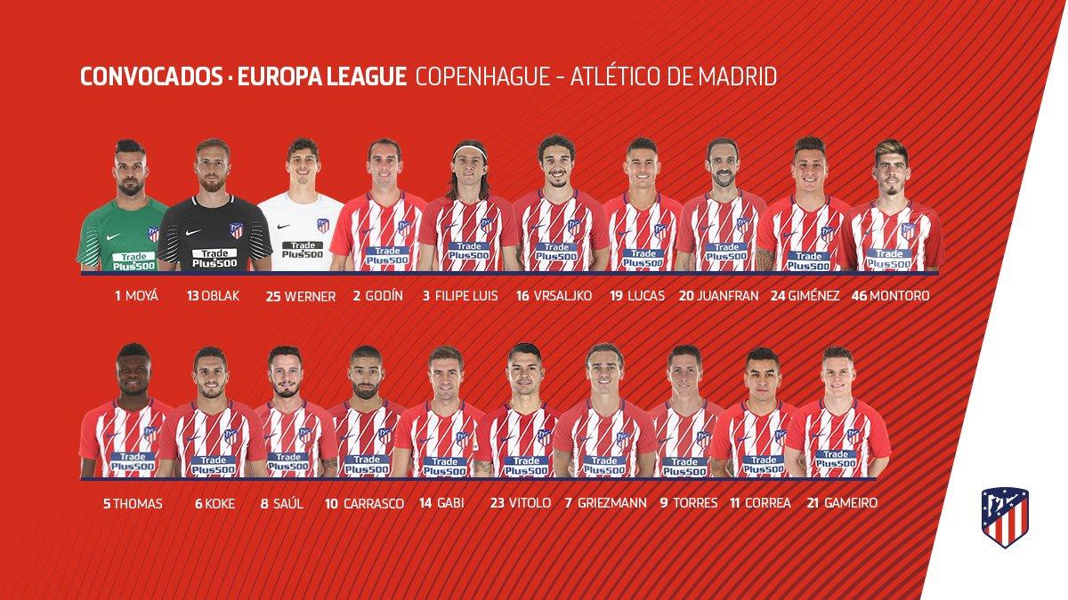 DV-1j0tW4AARZfa Diego Godín entra en la convocatoria para la Europa League, Diego Costa se queda fuera - Comunio-Biwenger