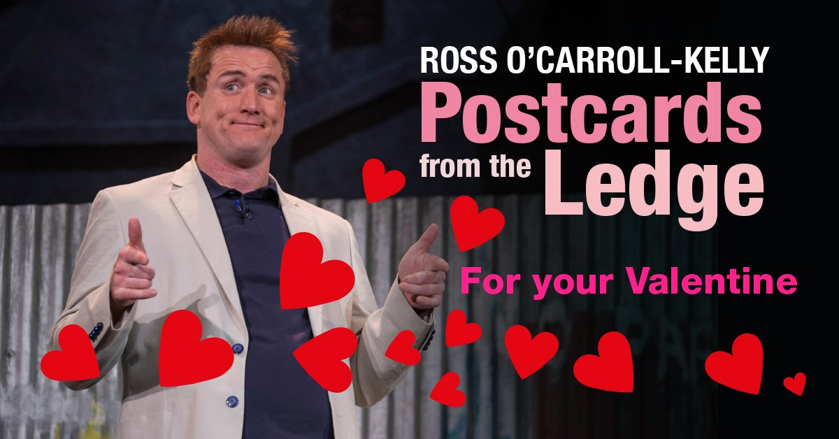 The Rossmeister has got it covered! ❤️ #PostcardsfromtheLedge bit.ly/2EUgaF2