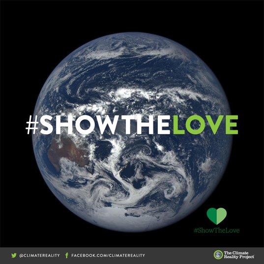#ShowYourLove for the Earth this #ValentinesDay2018   Here are 5 ways from @ClimateReality: https://t.co/tqJilghQsq