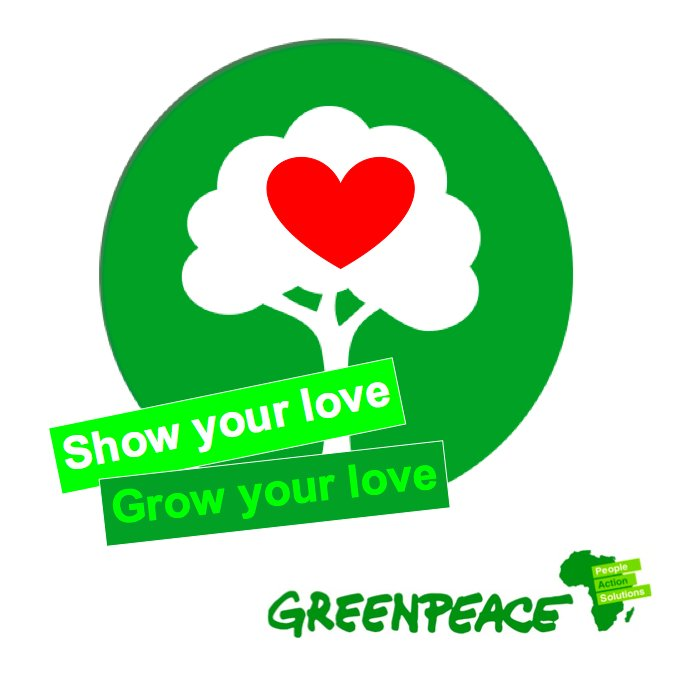 Greenpeace Africa On Twitter Flowers Are So Clich Plant Dont