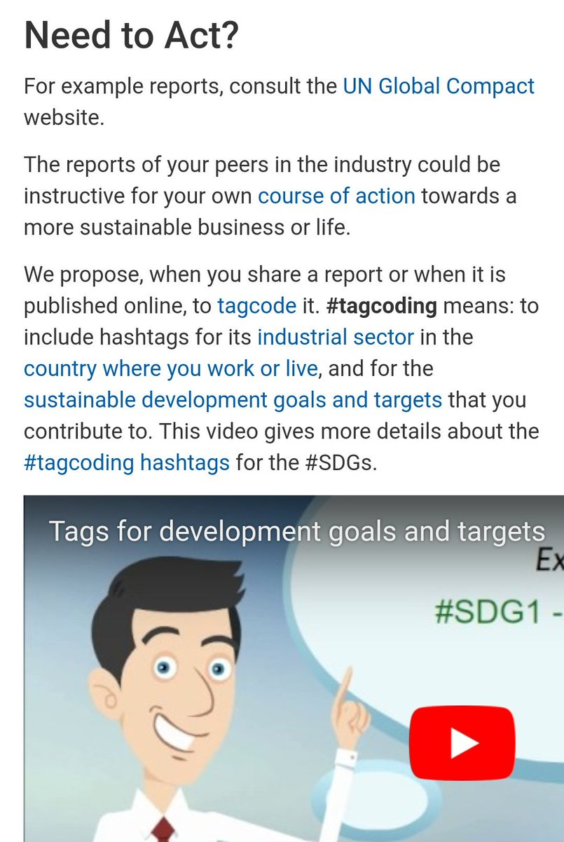 Un Global Compact On Twitter By Committing To Sustainability
