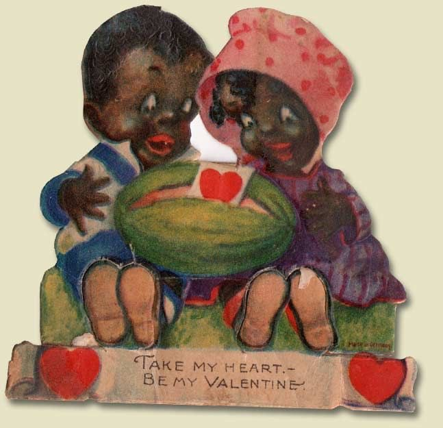 Whores Of Yore On Twitter Valentines Cards Showing Racist