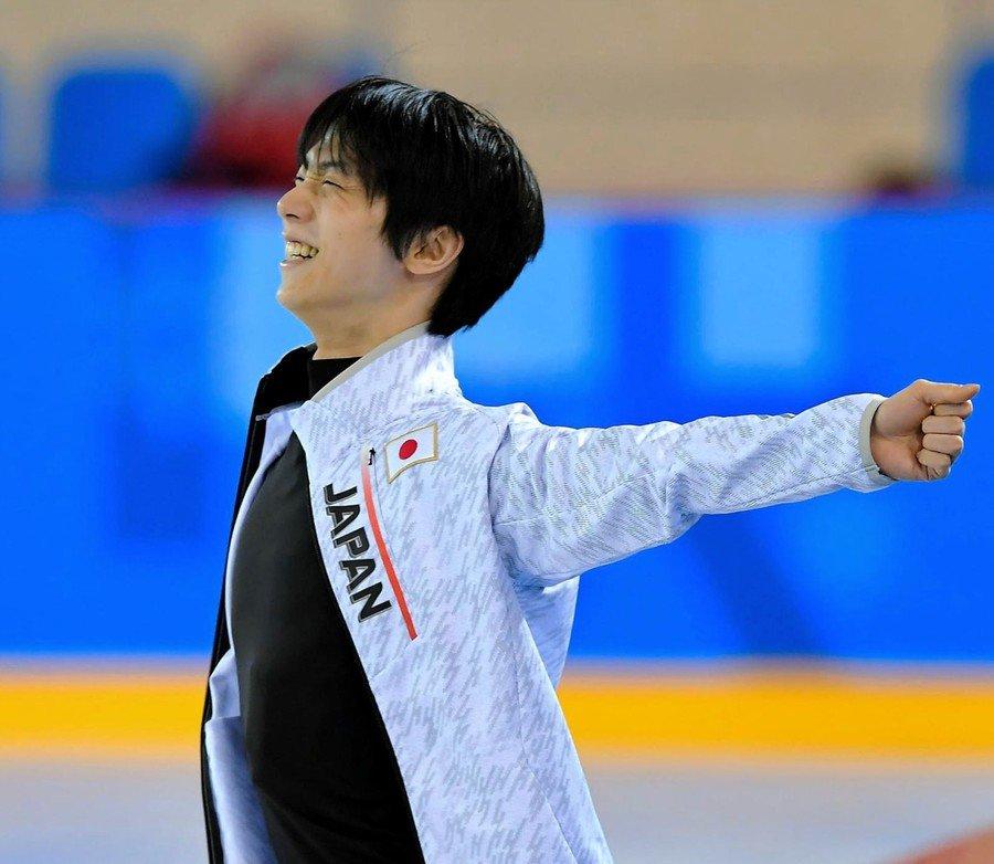 terza practice Yuzuru Hanyu