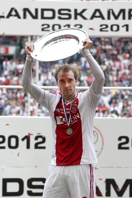 The one and only Christian Eriksen is vandaag jarig!2  6   Happy birthday