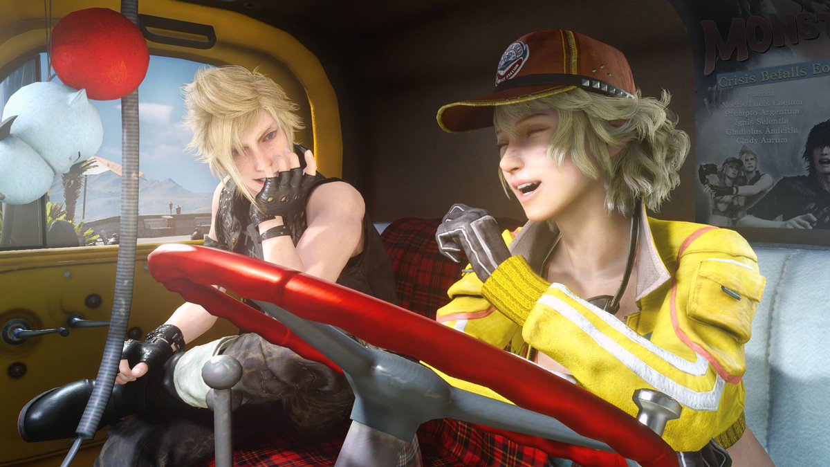 Final Fantasy Xv On Twitter Love Is In The Air Today Whether