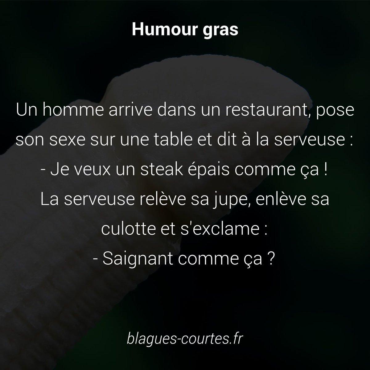 Blagues Courtes Ar Twitter Blague Le Sexe Sur La Table Https