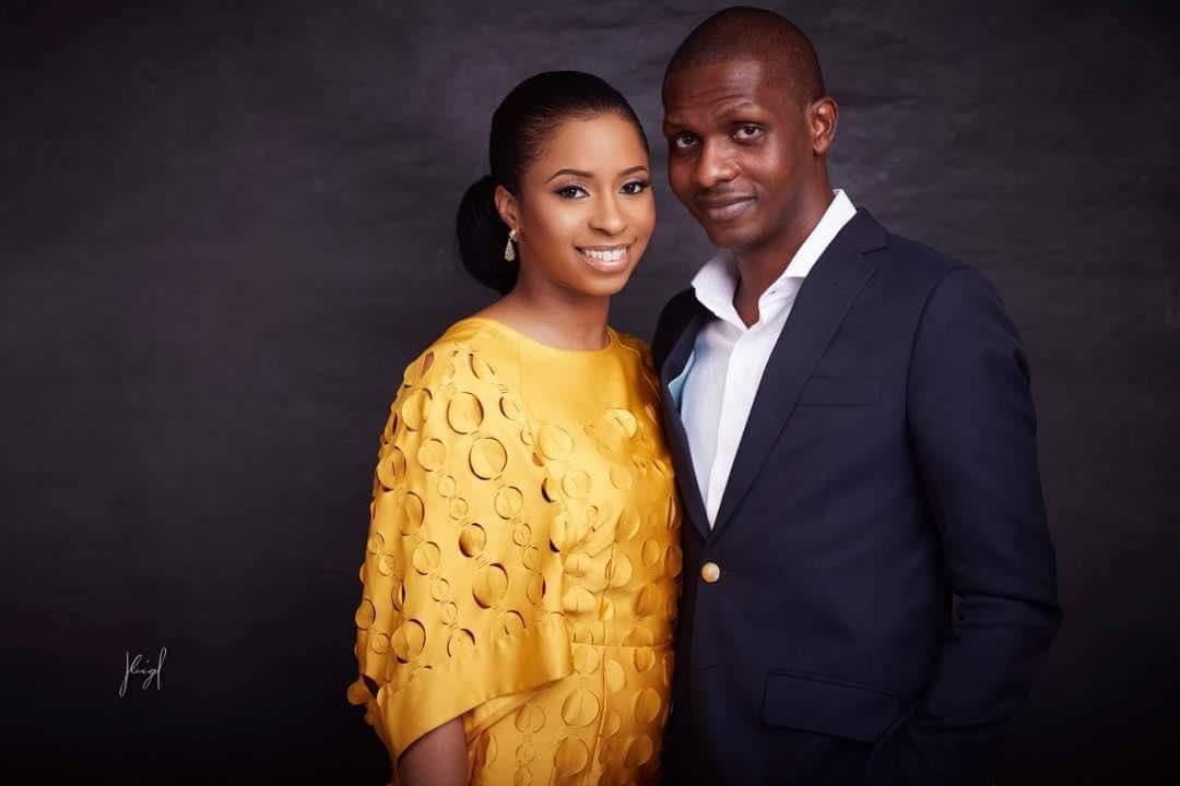 Photo Of VP Yemi Osinbajo's Daughter and her Fiance Oluseun Bakare