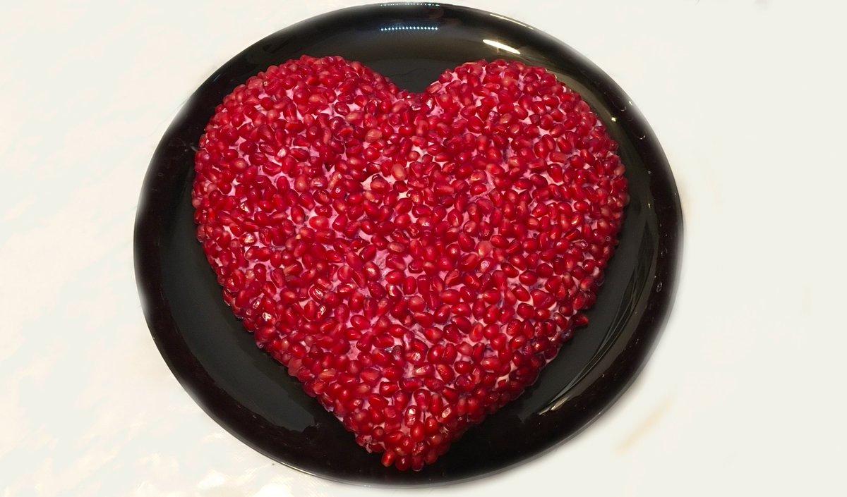 Салат в виде сердца рецепт с фото