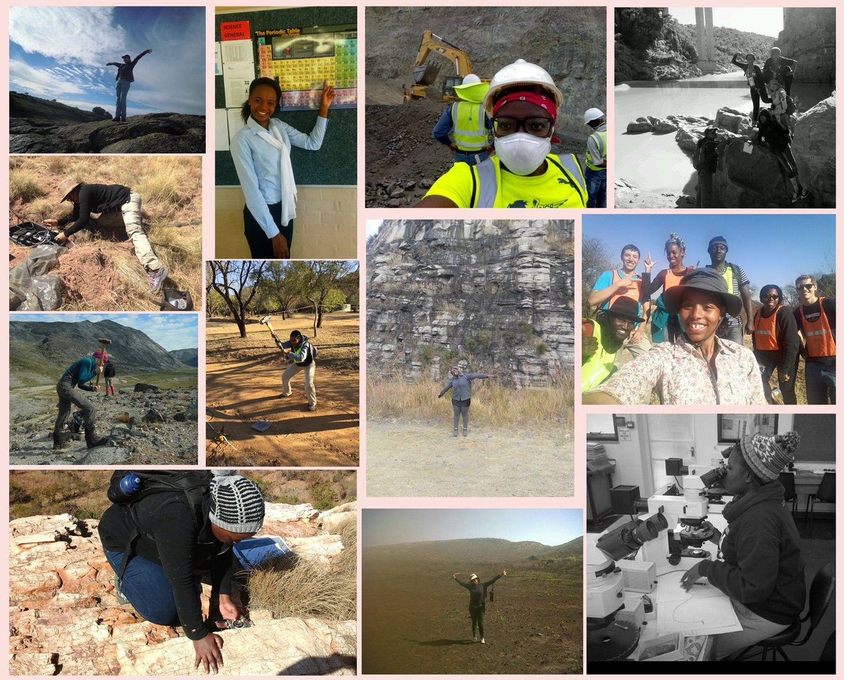 Wits geosciences witsgeos twitter for international day of women and girls in science some of the wits geoscientists in the field and lab womeninscience femfieldphotopicitter xflitez Images