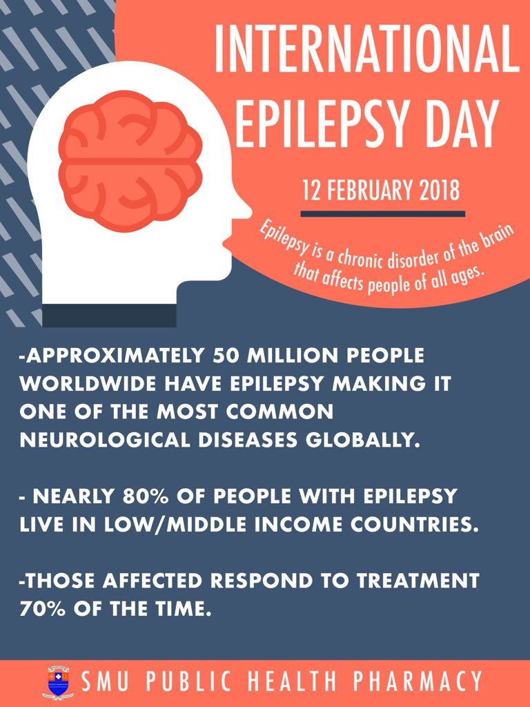"""Zeenat Hassim on Twitter: """"#InternationalEpilepsyDay Epilepsy is a chronic  condition where a person has recurrent seizures. A seizure is a medical  condition where too many brain cells become excited at the same"""