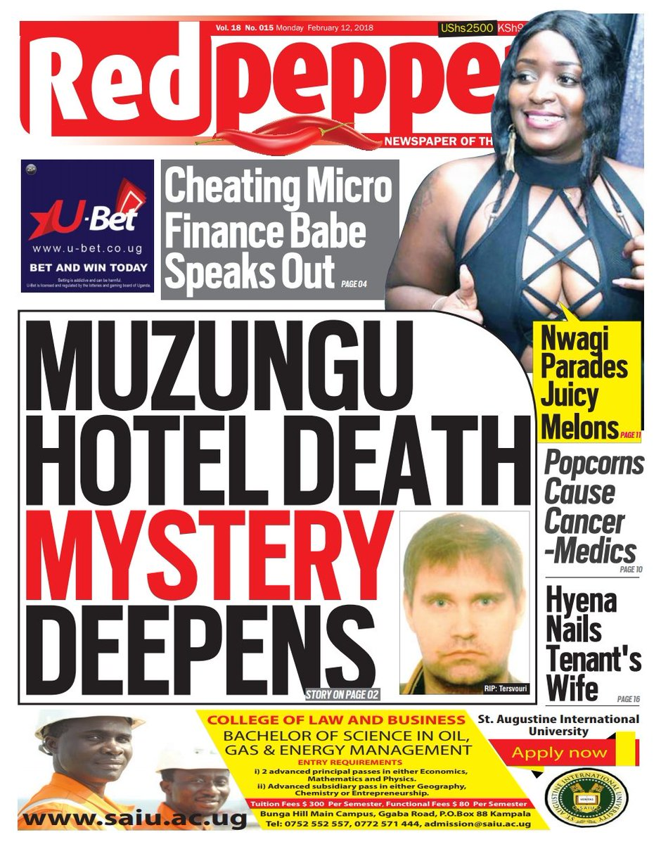 Red pepper news uganda online today
