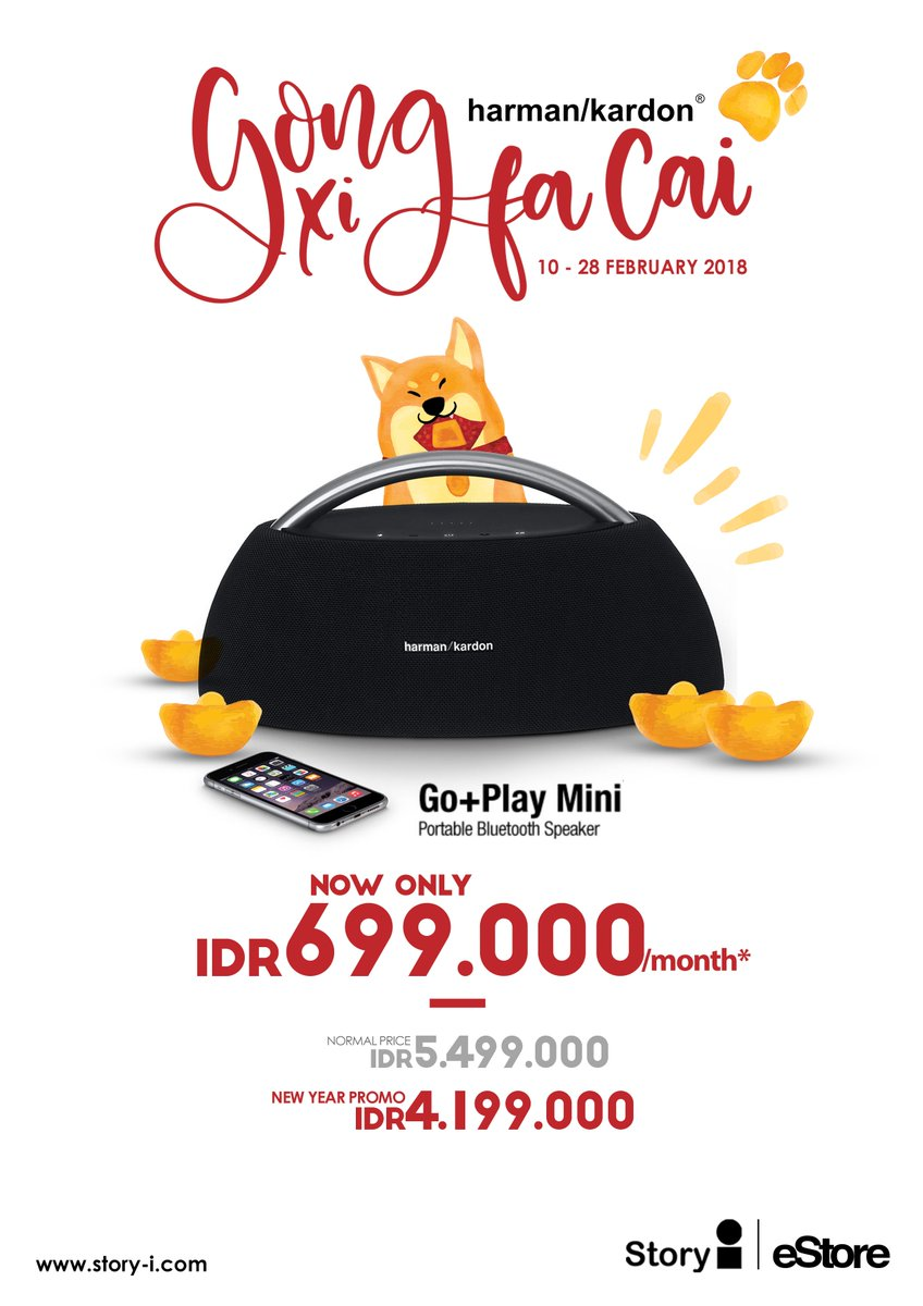 Story I On Twitter Harman Kardon Go Play Mini Portable Bluetooth Speaker Black Now Only Rp 699000 Month Tc Apply Storyi Estore Harmankardon