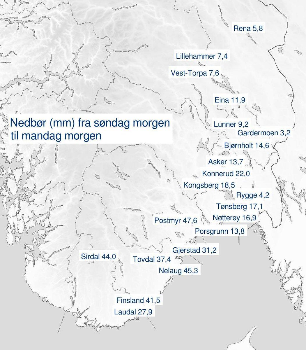 yr.no tønsberg