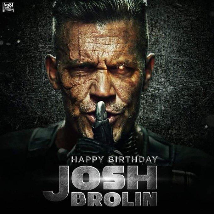 Happy birthday Josh Brolin