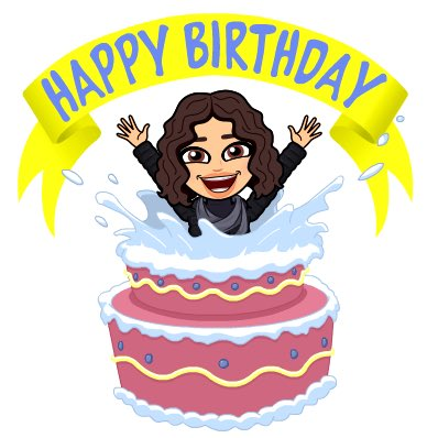 Happy Birthday Have a wonderful bday.  Lots of love from Italy