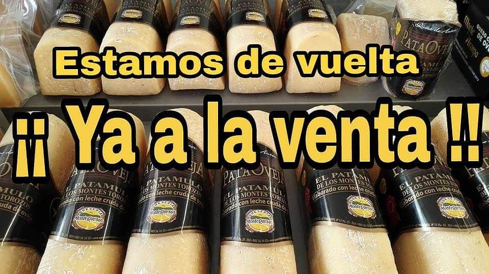 Comenzamos la semana!! #patamulo #pataoveja #algustodetodos @alimentosVALL @tierradesabor #yaestamosdevuelta #quesodeoveja #montequesos