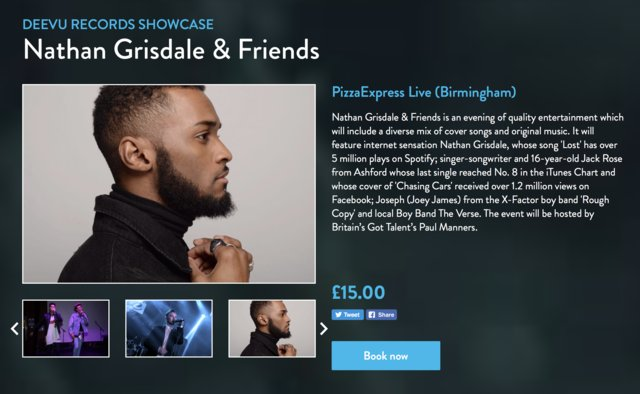 Only 4 Days untill Pizza Express Live Tickets Here: https://t.co/lOJmzGlyvQ https://t.co/NzJrKaOyls