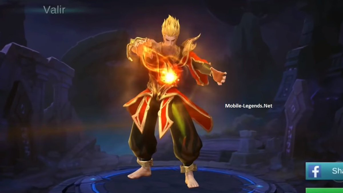 "Mobile Legends Fan No Twitter ""Valir Features"