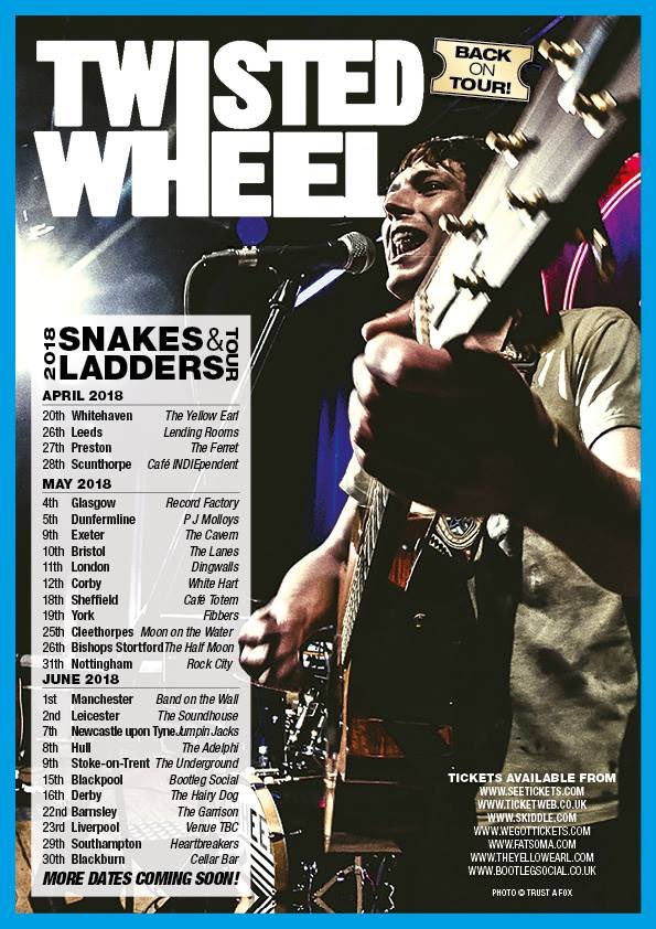 INTERVIEW: Twisted Wheel - go.shr.lc/2CgjQ1c