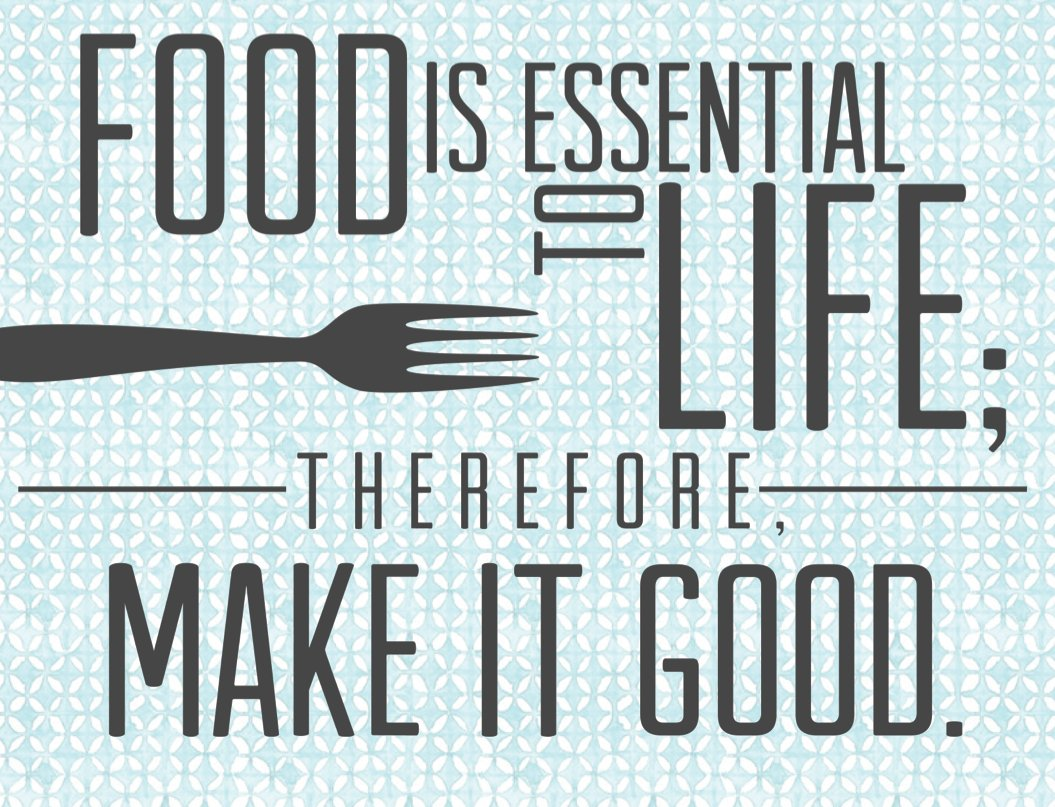 Quote For Everyone Funny Food Quotes Sayings