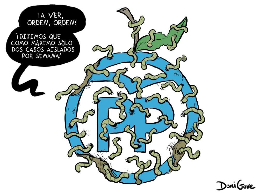 Granados, Aguirre, Cifuentes, González...