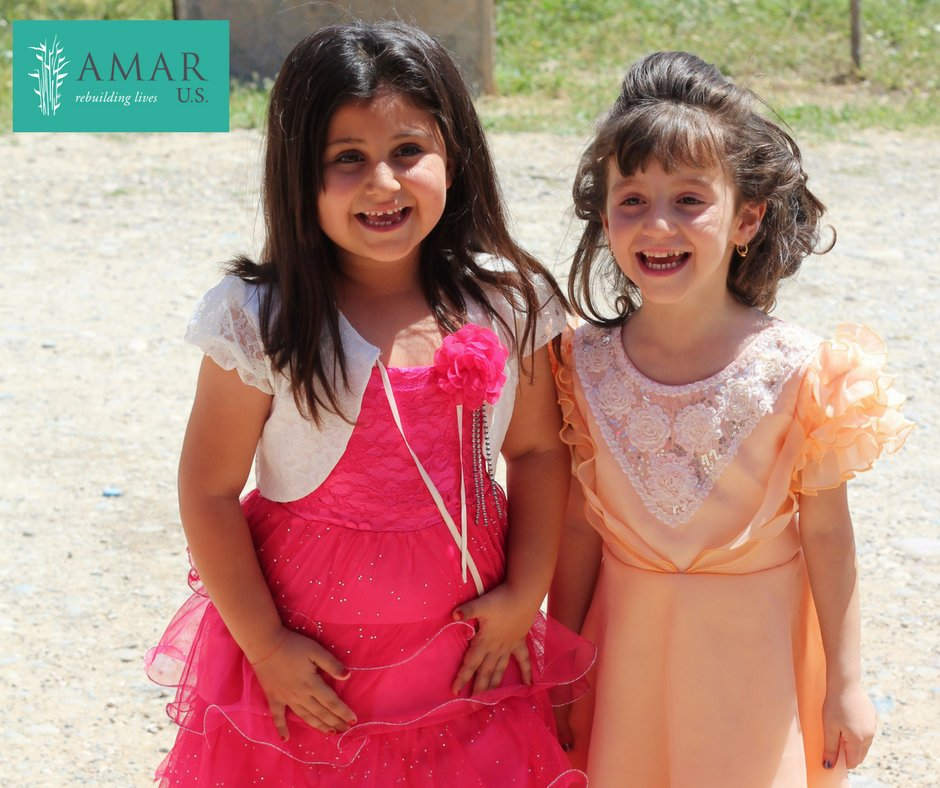 test Twitter Media - Happy International Friendship Week from AMAR U.S.! Meet Darine and Samandra, two 6 year old Yazidi girls who became friends at one of AMAR's kindergartens! #InternationalFriendshipWeek #SmileoftheWeek https://t.co/0U0gUoZwb7