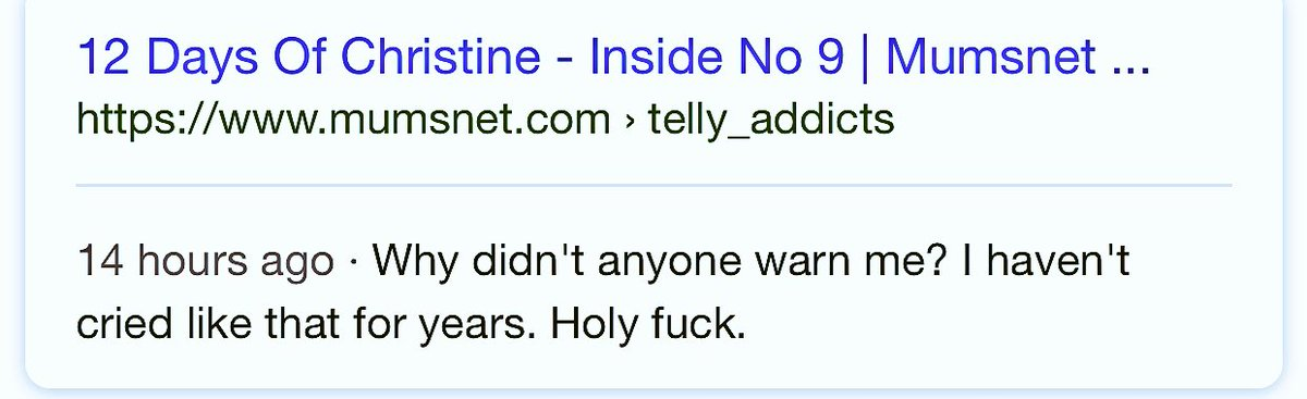 The award for best #InsideNo9 google sea...