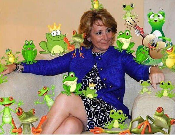Esperanza Aguirre hoy. #MantaGranadosARV...