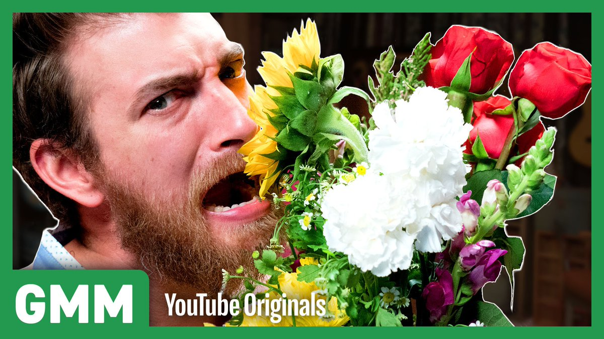Today were taste-testing edible flowers so you know what to buy your Valentine, covering ourselves in magnets, and playing an animal mating call guessing game. #GMM bit.ly/GMM1273