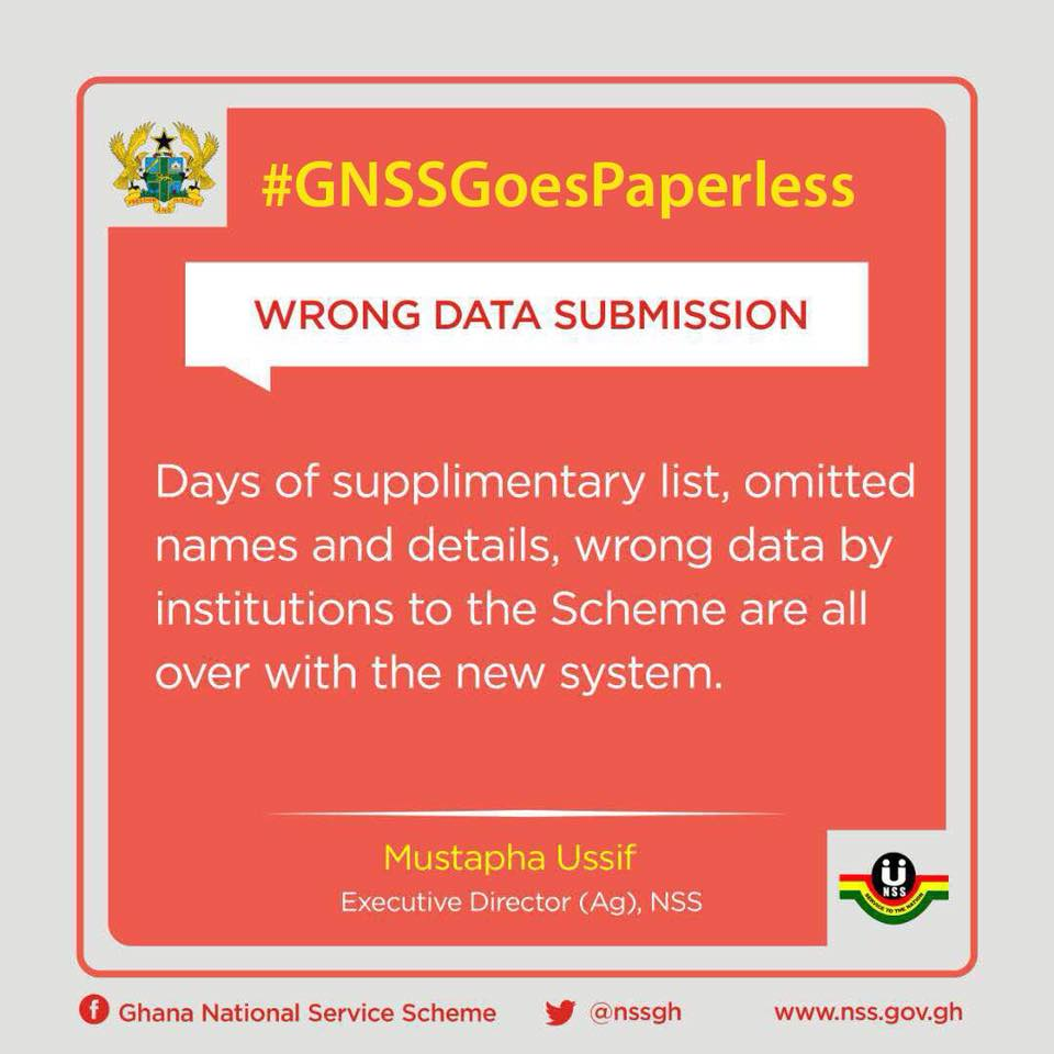 The paperless system deployed by the @nssghana would enhance how prospective National Service applicants enroll under the scheme. #GNSSGoesPaperless #NSS #NationalServiceScheme #CitiCBS #JoySMS