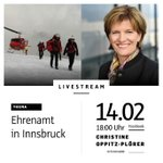 """Am kommenden Mittwoch ist unser Thema im #Facebook-#Livestream """"#Ehrenamt in #Innsbruck"""". Es würde mich sehr freuen, wenn ich eure Fragen #live beantworten darf. Schreibt mir einfach in die Kommentare auf: https://t.co/tp9nYcIXdh Los geht's um 18 Uhr. #ibktwit #intirol #tirol"""