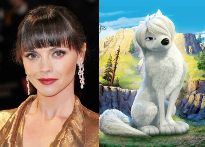 Happy 38th Birthday to Christina Ricci! The voice of Lilly in Alpha and Omega.
