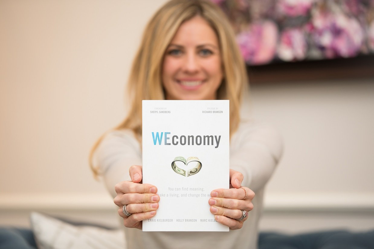 So proud of @HollyBranson for writing her first book #WEconomy https://t.co/PJDNR0vCMX https://t.co/D2QH8VvzXQ