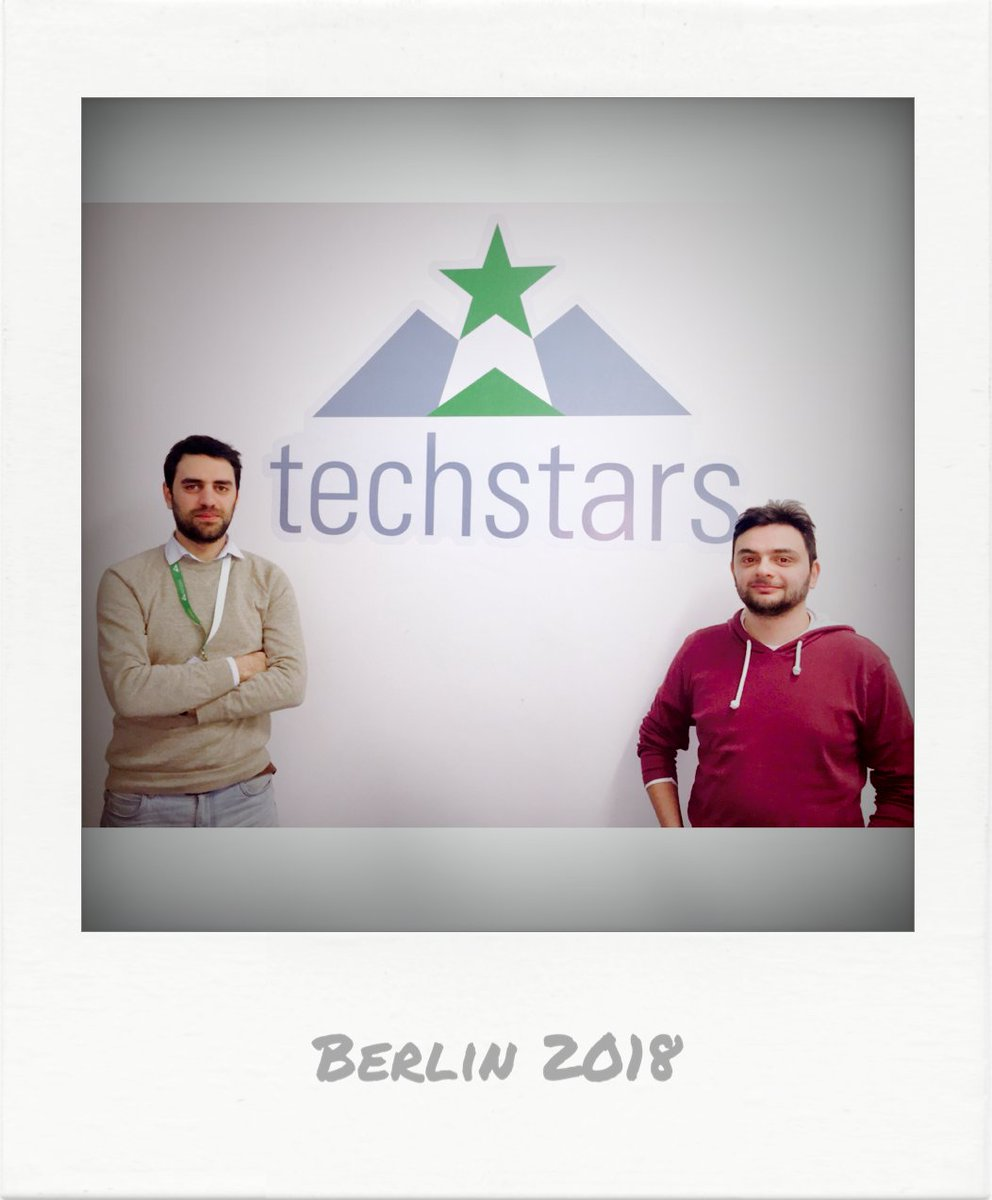 #happy #confused and #motivated joining #Techstars #TSBERLIN18 😎😎