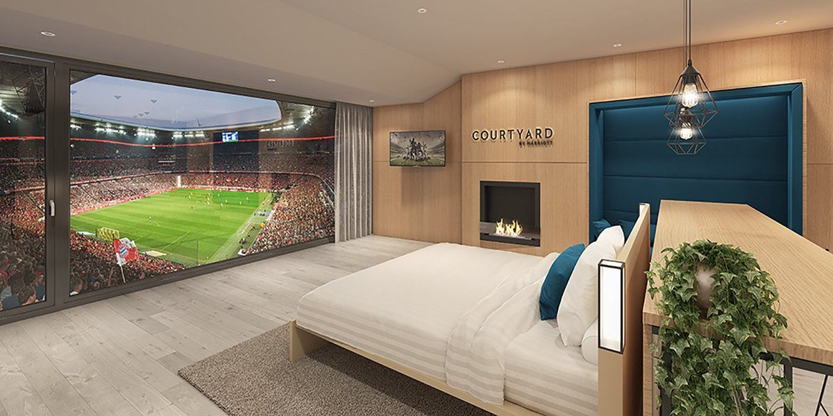 Bayern : une chambre incroyable à l\'Allianz Arena