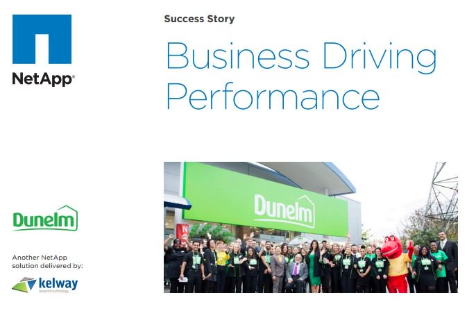 #NetAppFlash has accomodated and accelerated business growth for @DunelmUK, discover how we found the solution for them here: bit.ly/2Dl2mCh