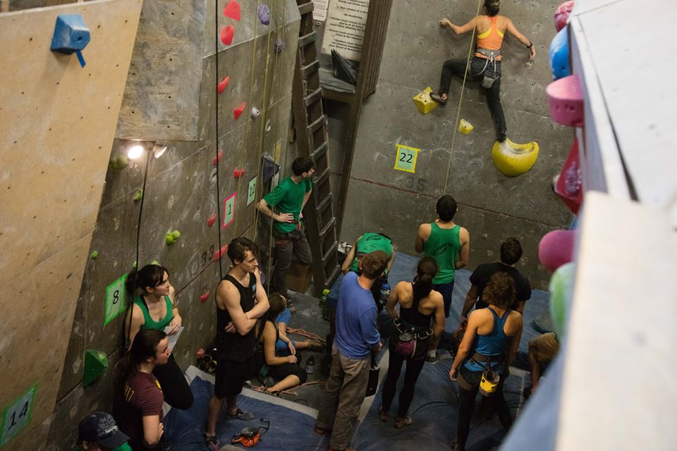 Visit boiler room climbing gym on your trip to kingston or canada