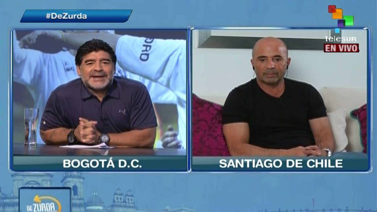 De onde vem a alcunha 'traidor' | Maradona x Sampaoli: Como pedido de foto desatou a guerra entre eles https://t.co/XUtNHiygw5