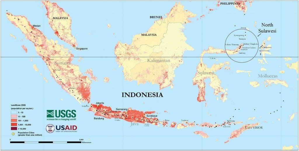 Population Map Of Indonesia Simon Kuestenmacher on Twitter: