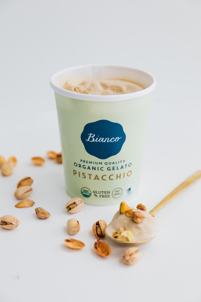 All I really want is a little pistacchio in my life. #BiancoGelato #Miami #CoconutGrove #healthyMiami
